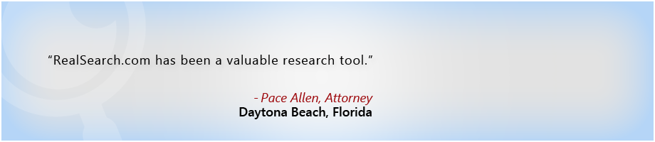 Pace Allen,Attorney, Daytona Beach, Florida